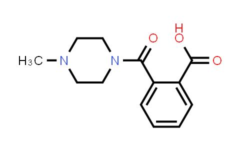 DY586399   20320-46-1   2-(4-methylpiperazine-1-carbonyl)benzoic acid