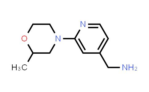DY586403 | 953901-77-4 | 1-[2-(2-methylmorpholin-4-yl)pyridin-4-yl]methanamine