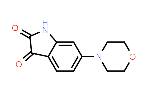 DY586409 | 1146290-26-7 | 6-(morpholin-4-yl)-2,3-dihydro-1H-indole-2,3-dione