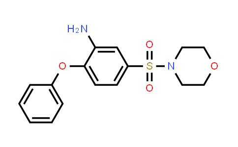 DY586410 | 736948-90-6 | 5-(morpholine-4-sulfonyl)-2-phenoxyaniline