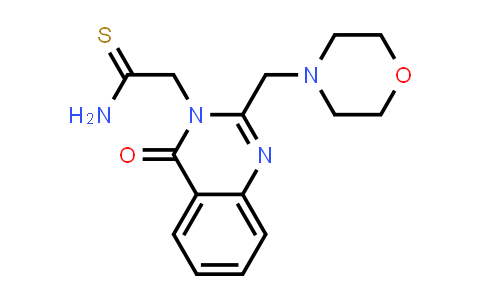 DY586411 | 730972-75-5 | 2-{2-[(morpholin-4-yl)methyl]-4-oxo-3,4-dihydroquinazolin-3-yl}ethanethioamide