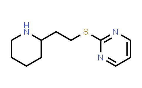 DY586428   1247552-92-6   2-{[2-(piperidin-2-yl)ethyl]sulfanyl}pyrimidine