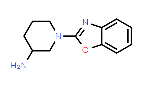 DY586429   1248987-69-0   1-(1,3-benzoxazol-2-yl)piperidin-3-amine
