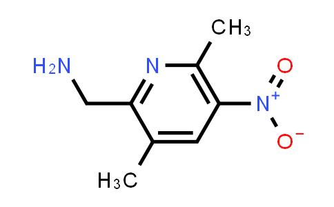 DY586444 | 1824087-32-2 | (3,6-dimethyl-5-nitro-2-pyridyl)methanamine