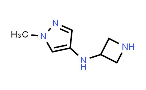 DY586455   1483201-50-8   N-(azetidin-3-yl)-1-methyl-pyrazol-4-amine