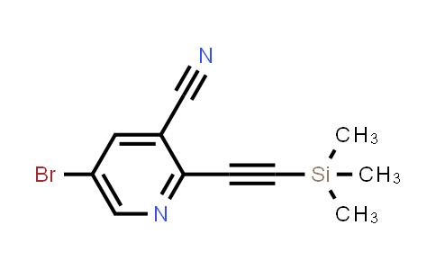 DY586479 | 1799922-10-3 | 5-bromo-2-(2-trimethylsilylethynyl)pyridine-3-carbonitrile