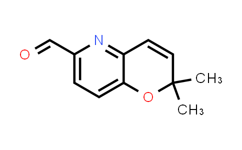 DY586492 | 1342891-16-0 | 2,2-dimethylpyrano[3,2-b]pyridine-6-carbaldehyde