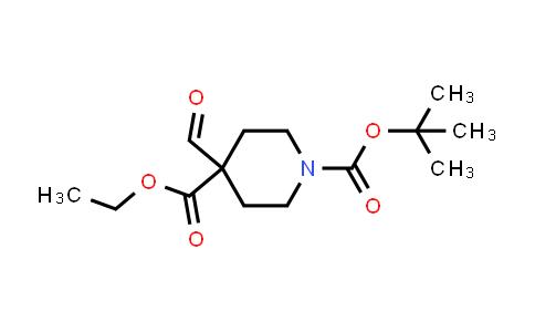 DY586520   1253791-57-9   O1-tert-butyl O4-ethyl 4-formylpiperidine-1,4-dicarboxylate