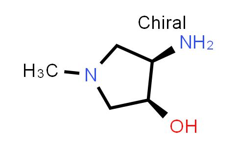 DY586571 | 2382059-81-4 | (3S,4R)-4-amino-1-methyl-pyrrolidin-3-ol