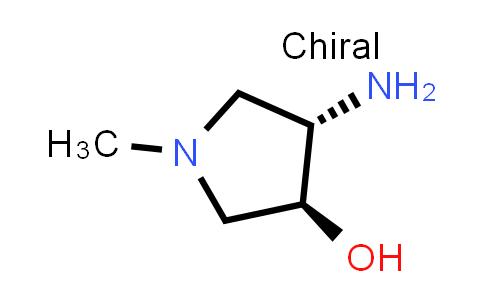 DY586572 | 2126143-39-1 | (3S,4S)-4-amino-1-methyl-pyrrolidin-3-ol