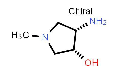 DY586573 | 1932144-88-1 | (3R,4S)-4-amino-1-methyl-pyrrolidin-3-ol
