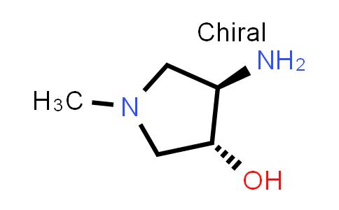 DY586576 | 1375066-18-4 | trans-4-amino-1-methyl-pyrrolidin-3-ol