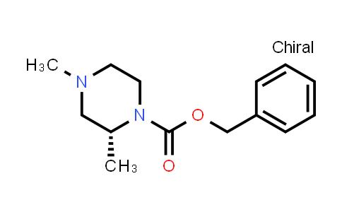 DY586586   1033717-15-5   benzyl (2R)-2,4-dimethylpiperazine-1-carboxylate