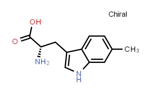 DY586615   33468-34-7   (2S)-2-amino-3-(6-methyl-1H-indol-3-yl)propanoic acid