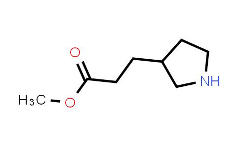 DY586639 | 903880-86-4 | methyl 3-pyrrolidin-3-ylpropanoate