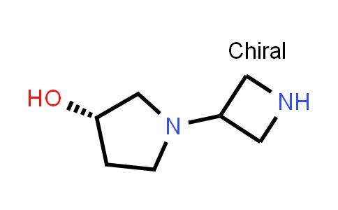 DY586641 | 1257293-72-3 | (3S)-1-(azetidin-3-yl)pyrrolidin-3-ol